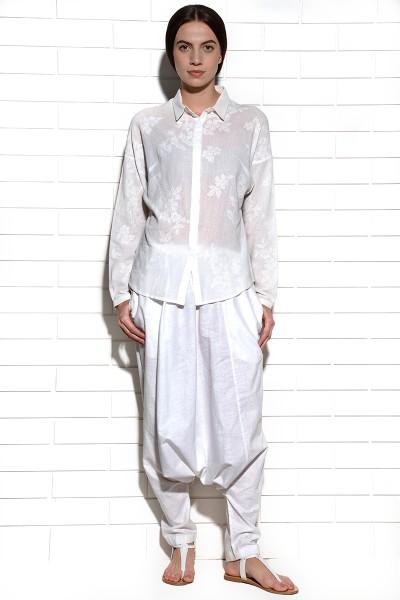 Albayzin Zouave Pants White