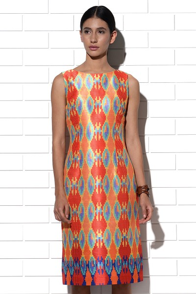 Sundowner Ikat Dress