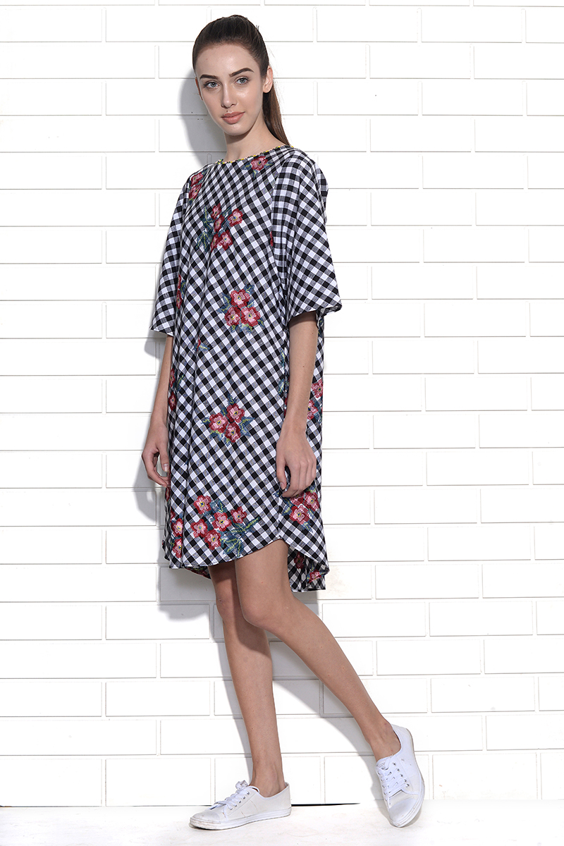 Carolina embroidered dress