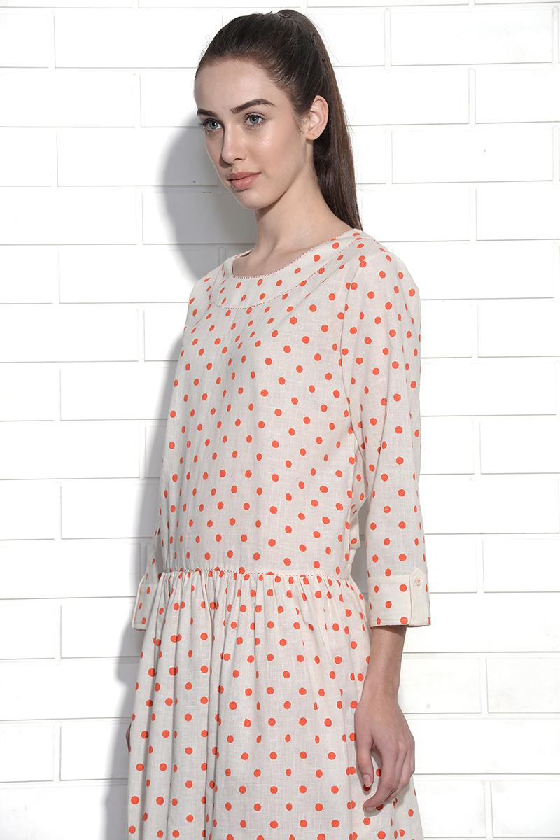 Polka dot moonbeam dress