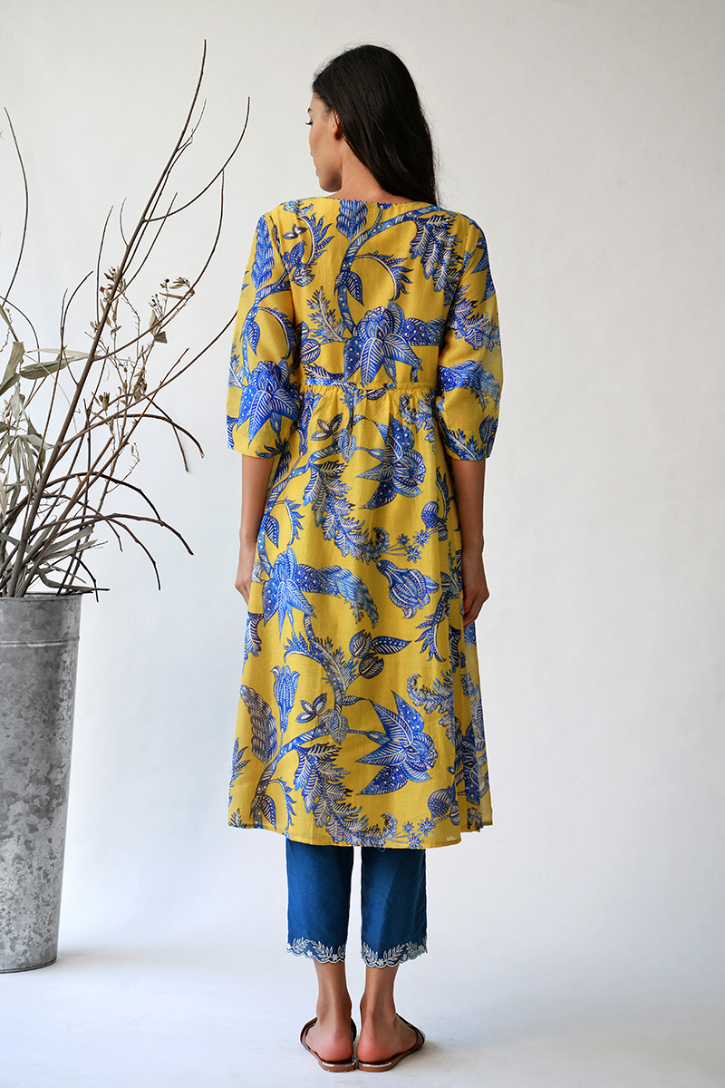 Sometsuke Tunic dress