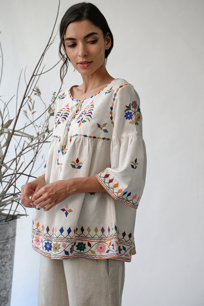 Mandvi embroidered top