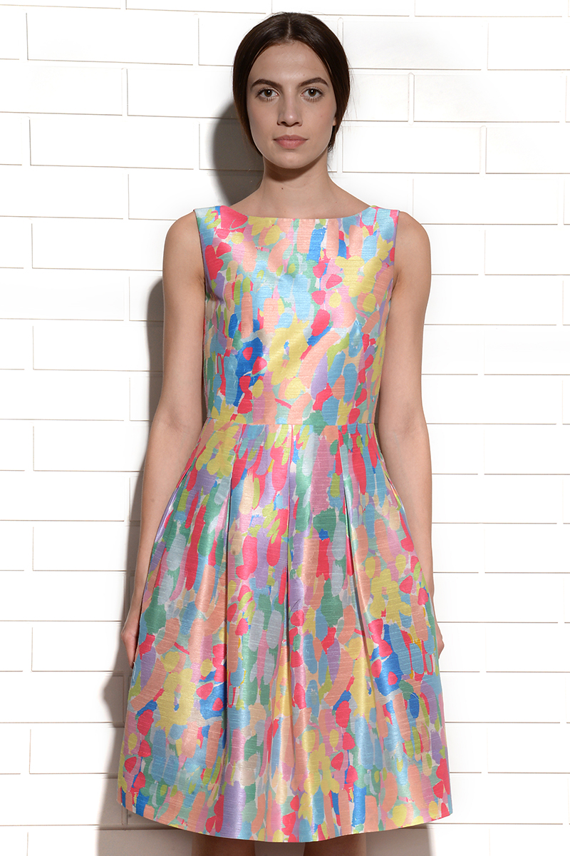 Abstract Canvas Candy Dress