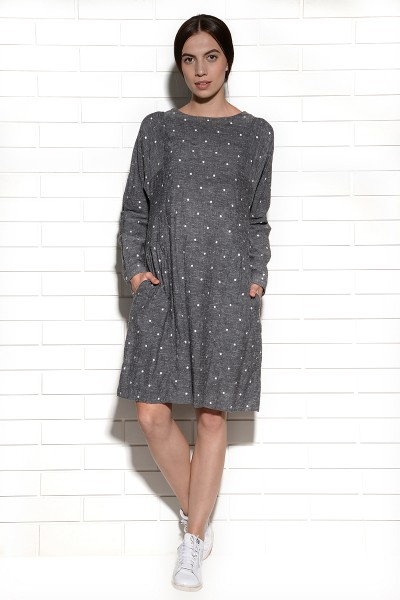 Lunares Embroidered Tunic Dress