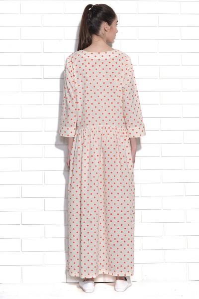 Polka dot moonbeam dress