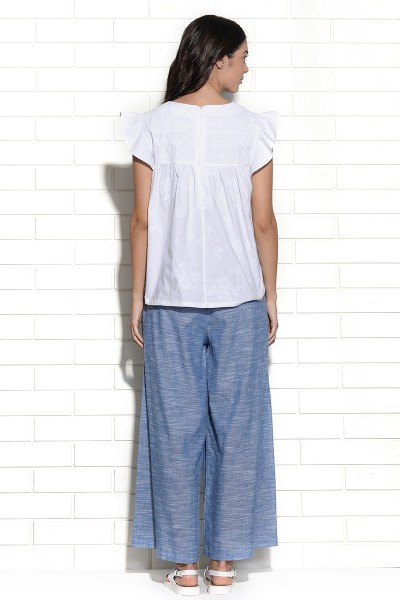 Diablo wide leg trouser