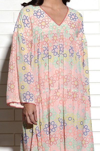 Prodigal embroidered dress