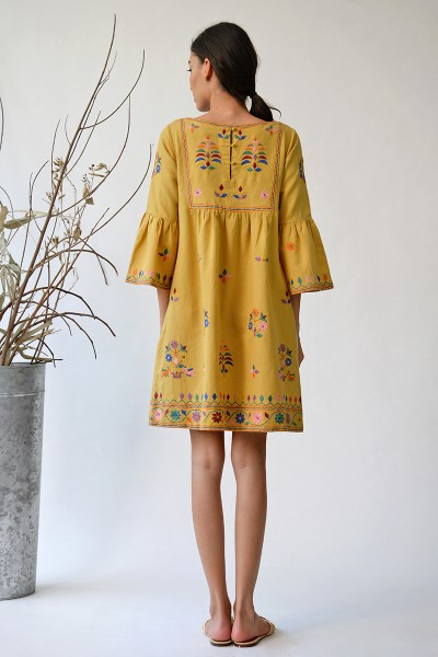 Shakoor Embroidered Dress
