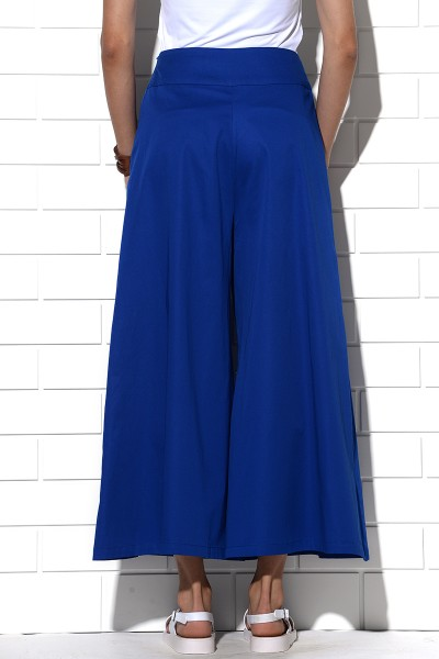 Icaria wide leg pants in blue
