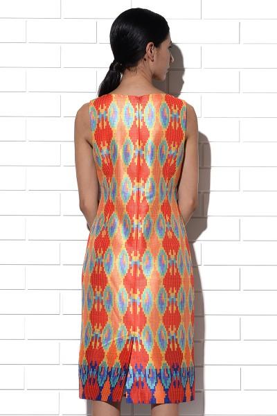 Sundowner Ikat Dress