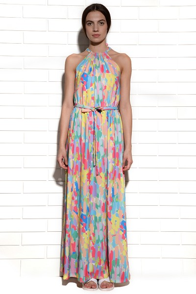 Candy Camouflage Halter Dress